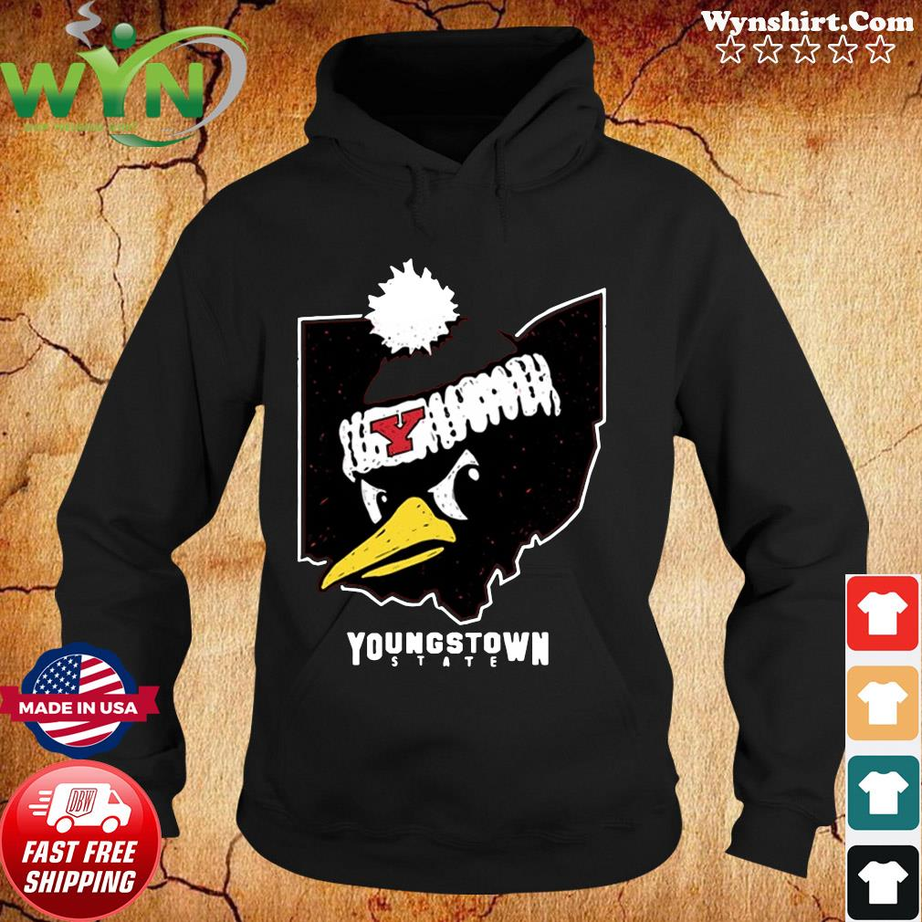 Official Youngstown State Ohio Penguin Shirt Hoodie