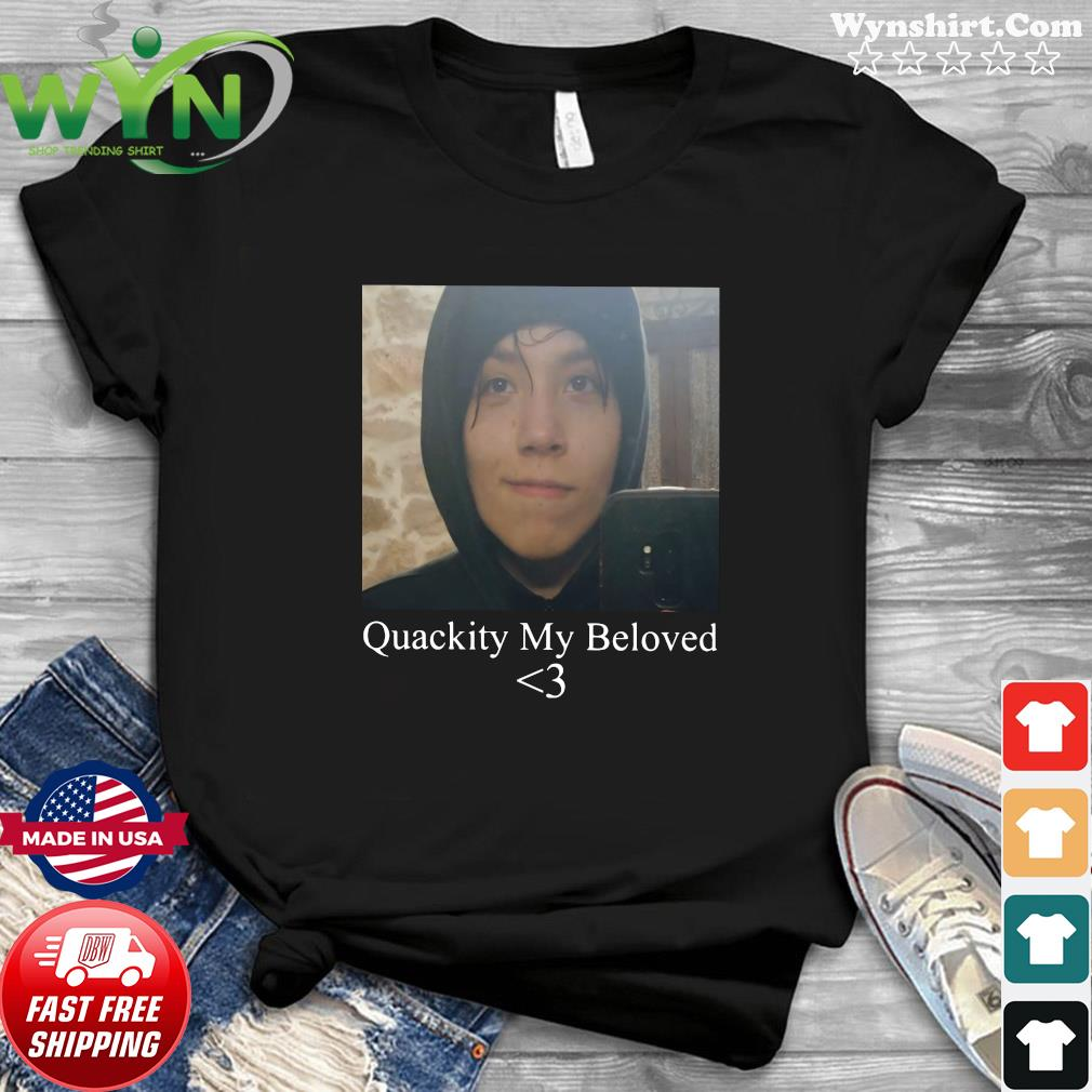 Official Quackity My Beloved Heart Shirt
