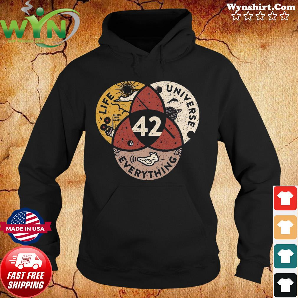 42 The Answer To Life Universe And Everything Shirt Hoodie