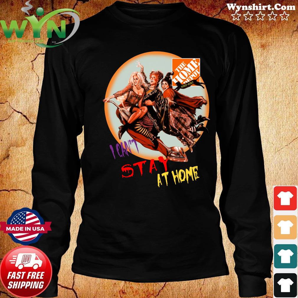 Hocus Pocus The Home Depot I Can't Stay At Home Shirt Long Sweater