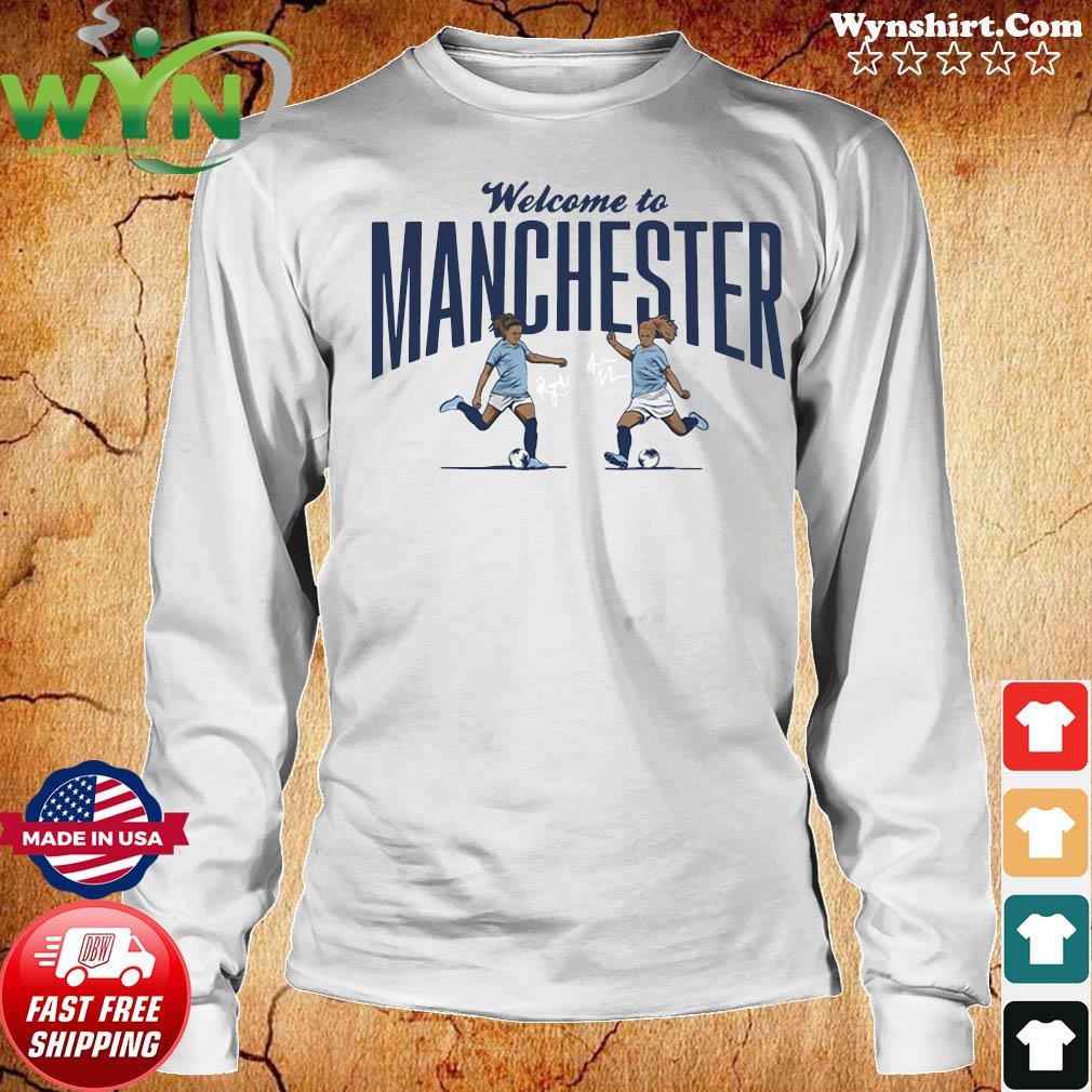 Lavelle & Mewis Welcome to Manchester Official T-Shirt Long Sweater