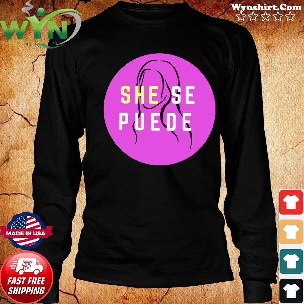 She Se Puede Shirt Long Sweater