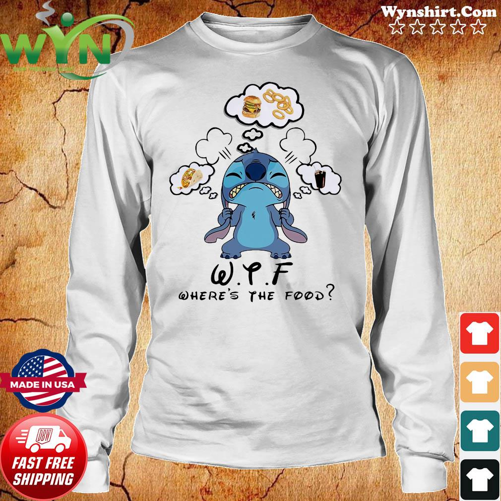 Stitch WTF Where's The Food Shirt Long Sweater