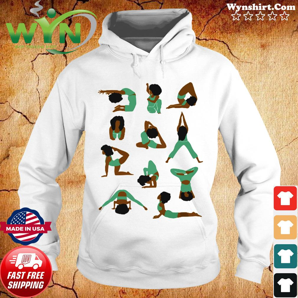 Strong Girl Yoga Shirt Hoodie