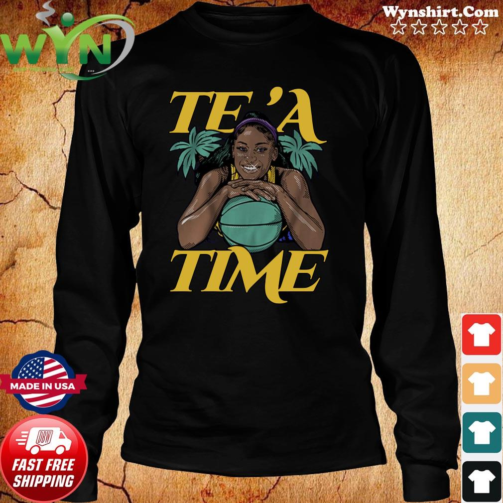 Te'a Cooper, Te'a Time, Los Angeles Tee Shirt Long Sweater