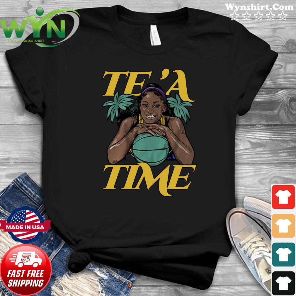 Te'a Cooper, Te'a Time, Los Angeles Tee Shirt