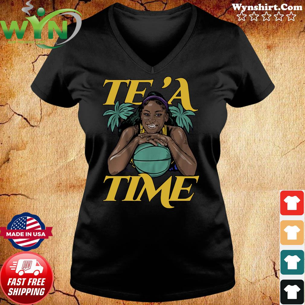 Te'a Cooper, Te'a Time, Los Angeles Tee Shirt ladies tee