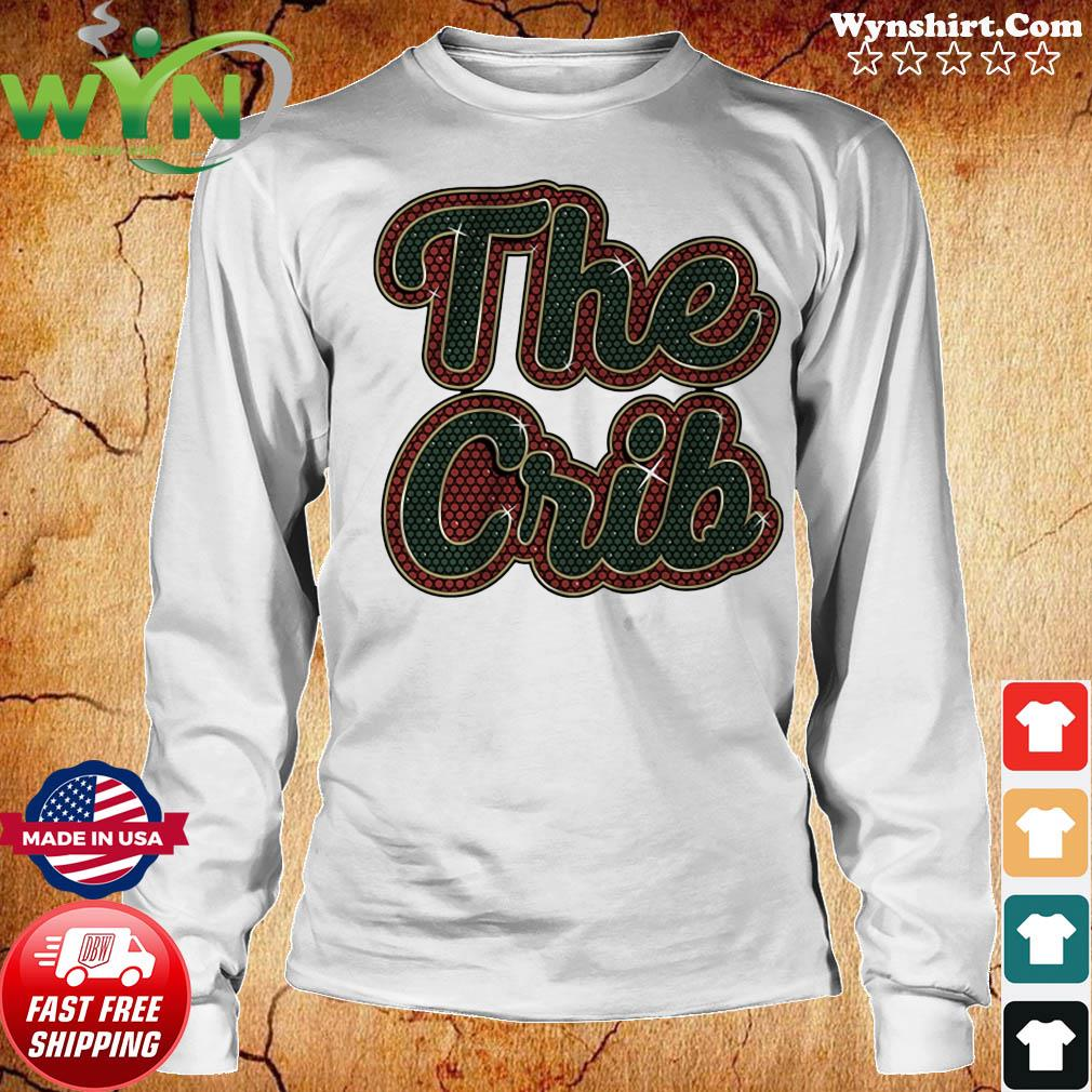 The Crib Miami Football Shirt Long Sweater