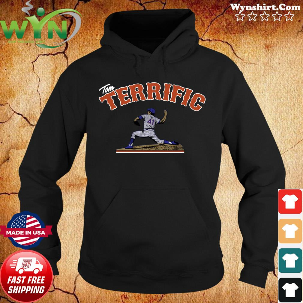 Tom Seaver Tom Terrific Shirt Hoodie