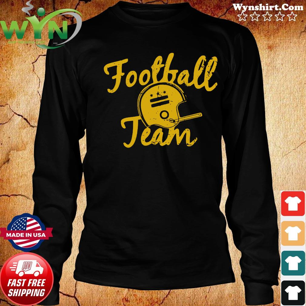 Washington Football Team Shirt Long Sweater