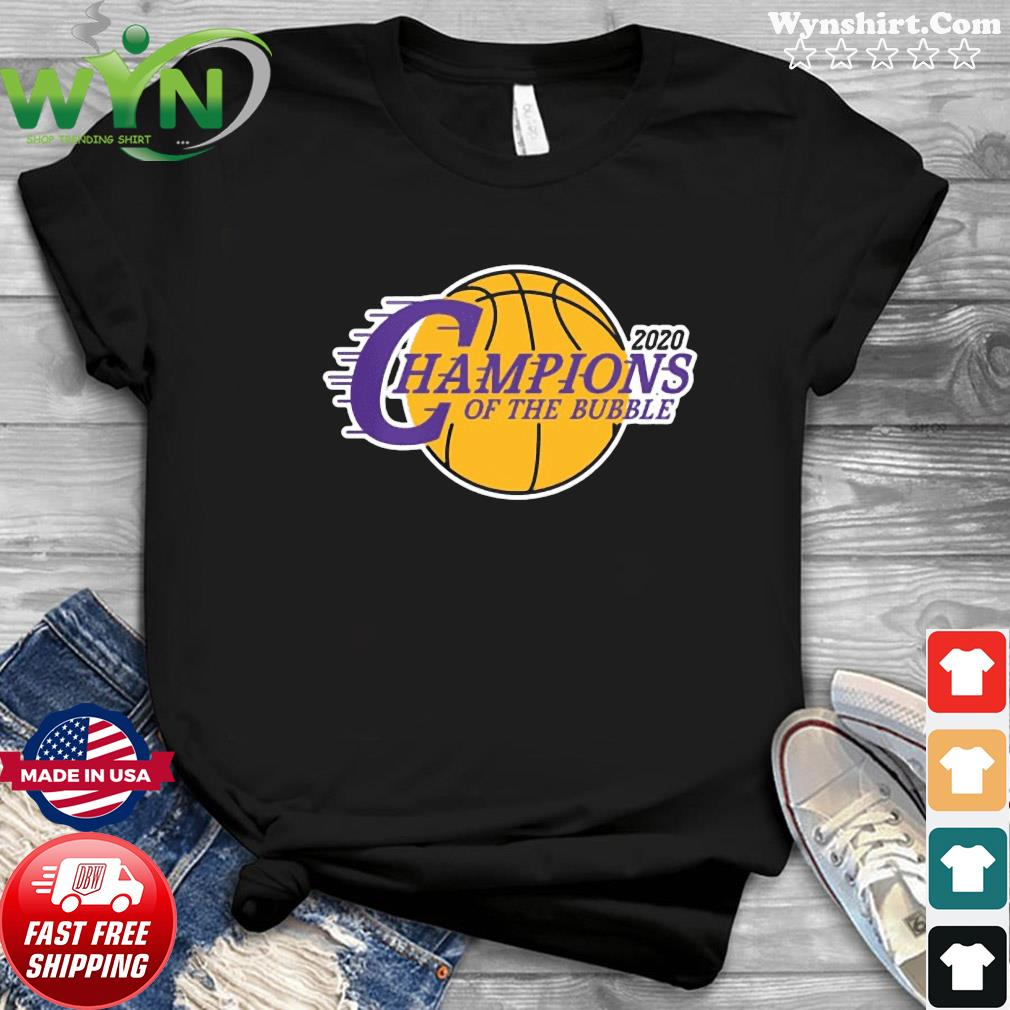 Champions Of The Bubble Basketball 2020 Shirt