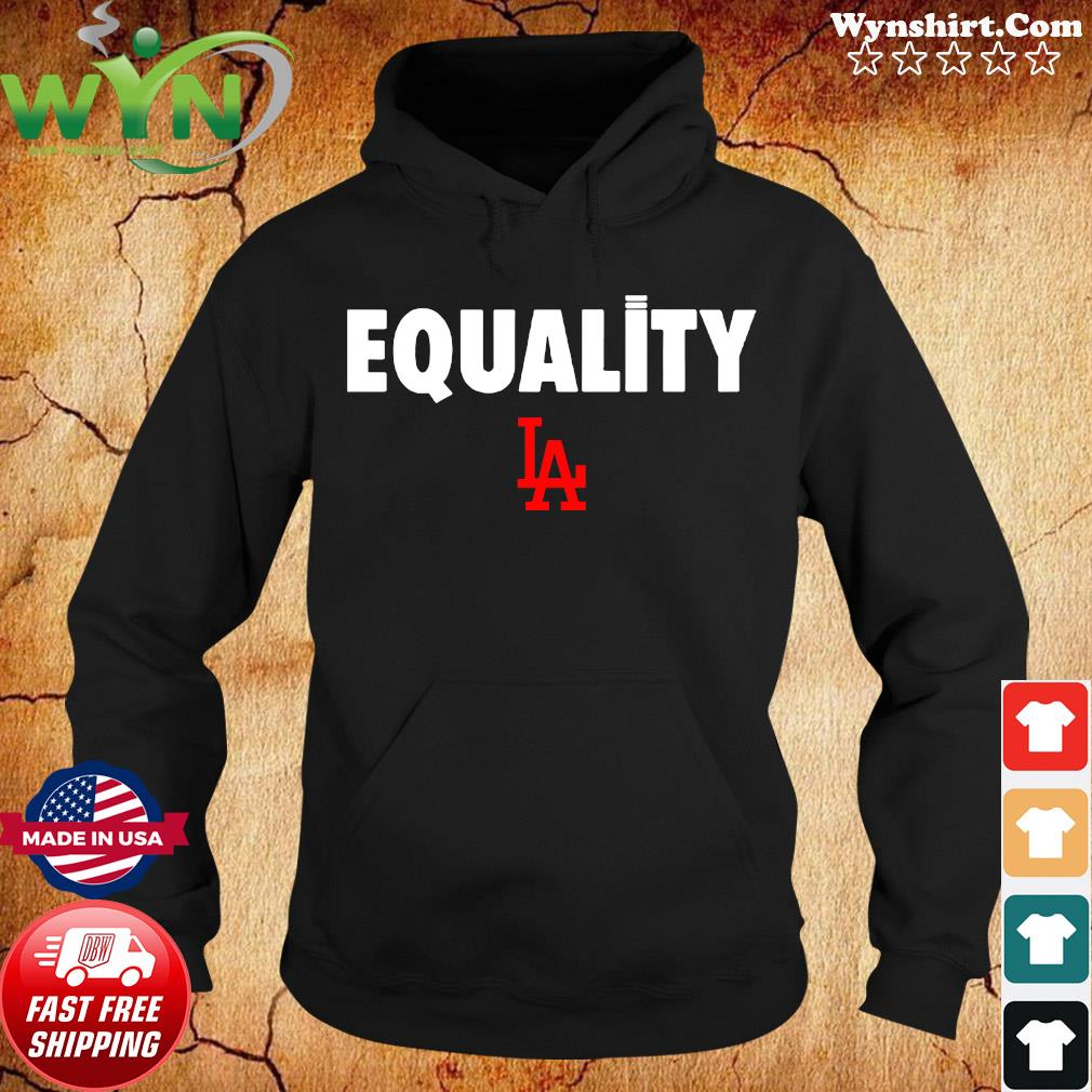 Equality Los Angeles Dodgers Classic T-Shirt Hoodie