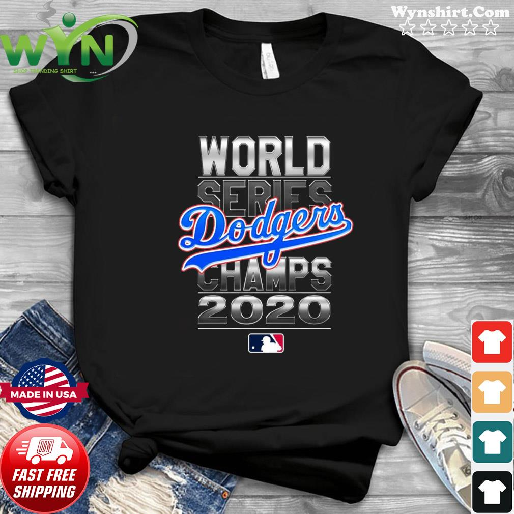 Los Angeles Dodgers 2020 World Series Champions Champions 2020 Kobe Bryant Lebron James T-Shirt
