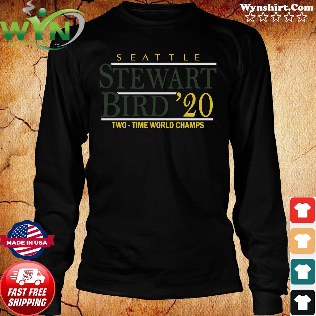 Stewart Bird 2020 T-Shirt, Seattle – WNBPA Licensed Long Sweater