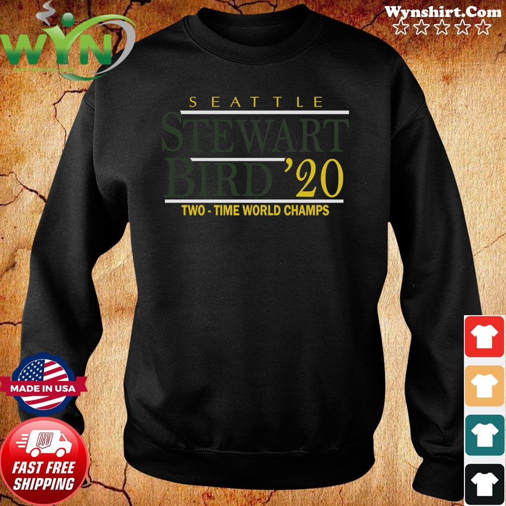 Stewart Bird 2020 T-Shirt, Seattle – WNBPA Licensed Sweater