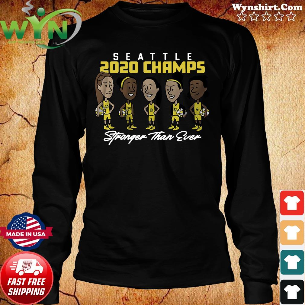 Stronger Than Ever Champs Seattle Shirt Long Sweater