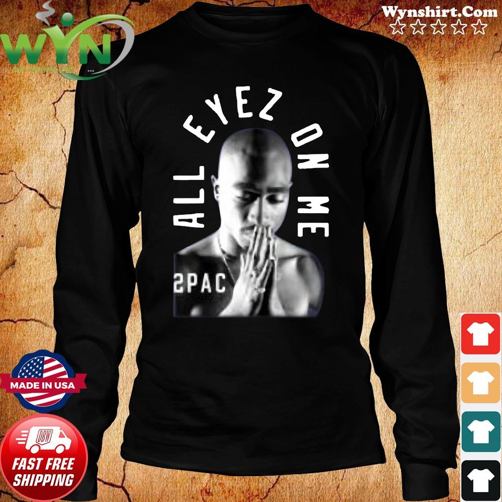 Tupac Me Against the World Shirt Long Sweater