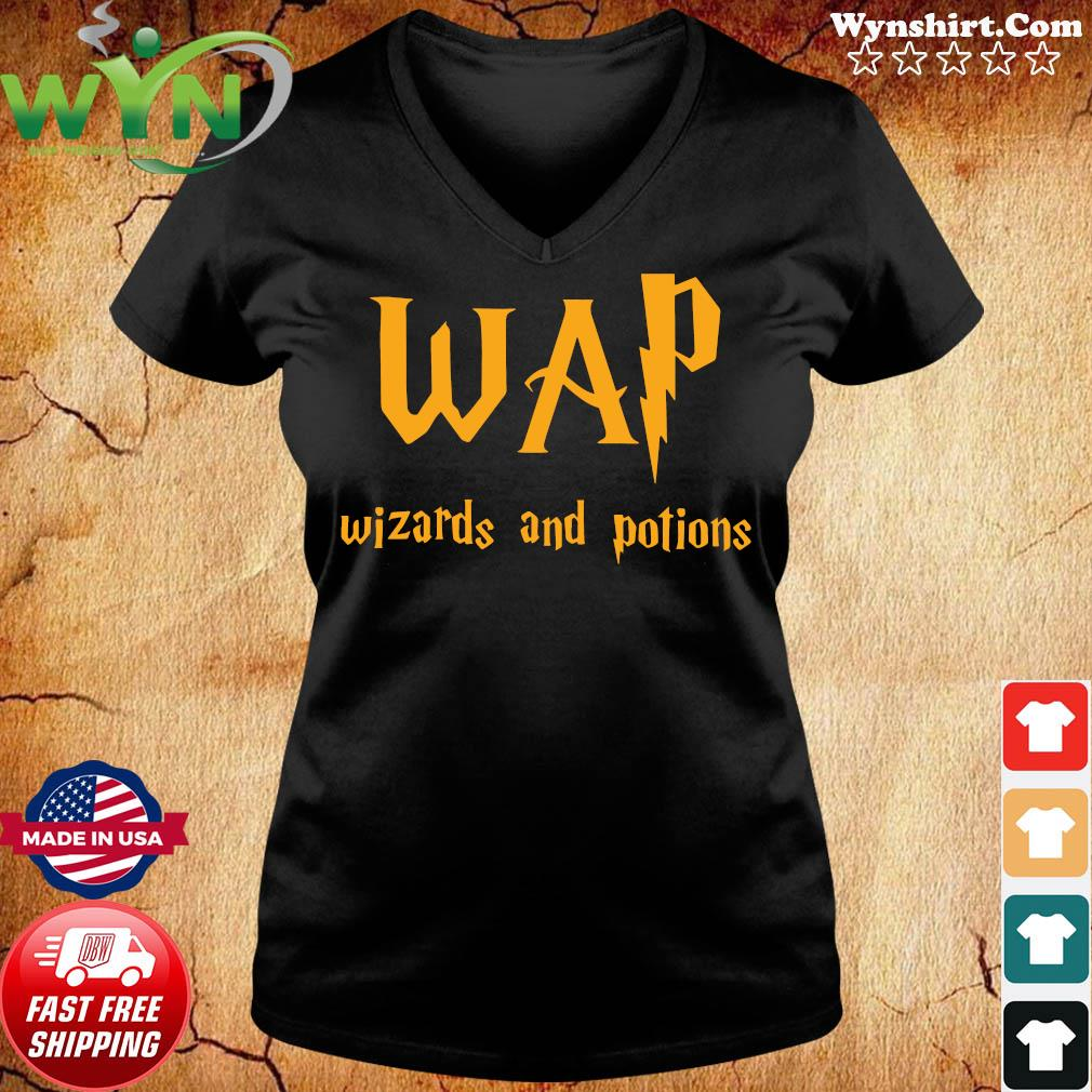 Wap Wizards And Potions Shirt ladies tee