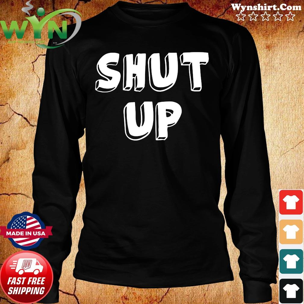 Will You Shut Up Man 2020 Biden Harris 2020 Vote Blue Democrat Shirt Long Sweater