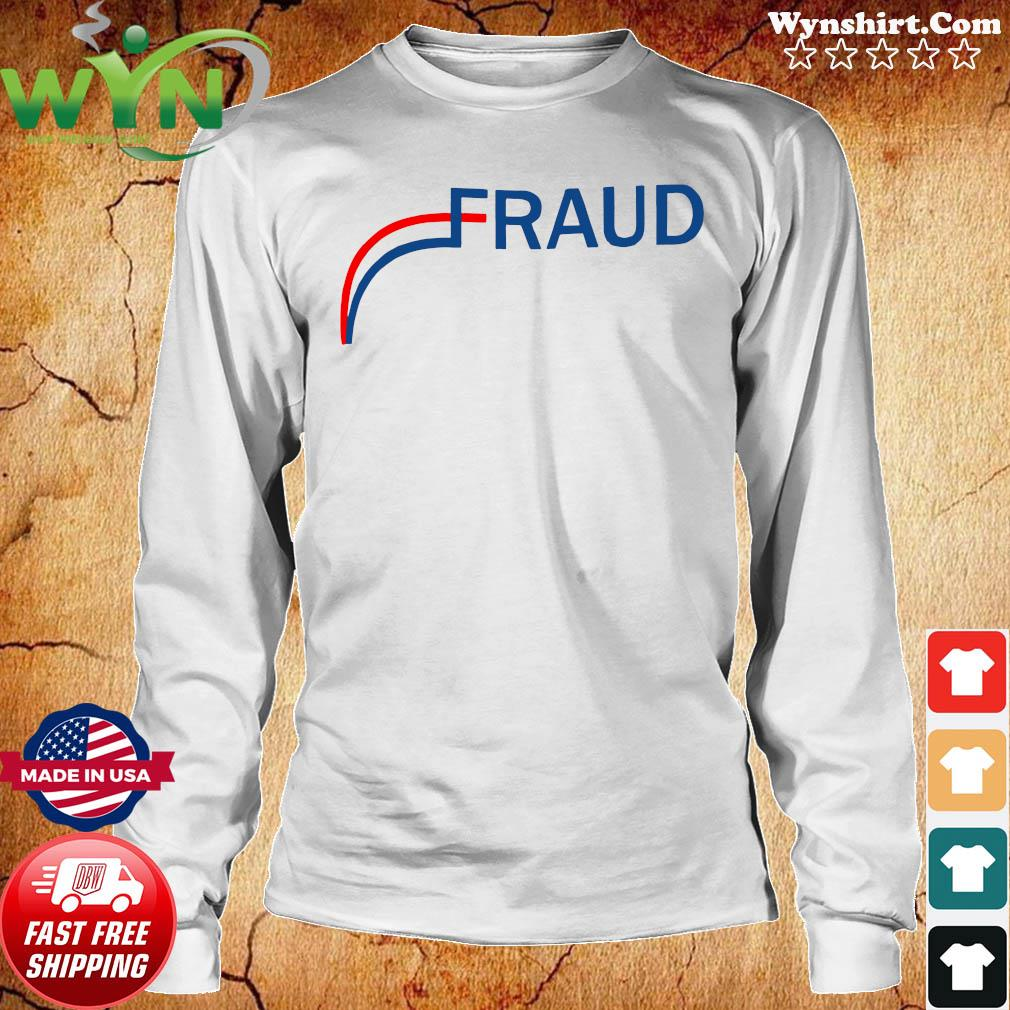 Stop The Election Fraud Shirt Long Sweater