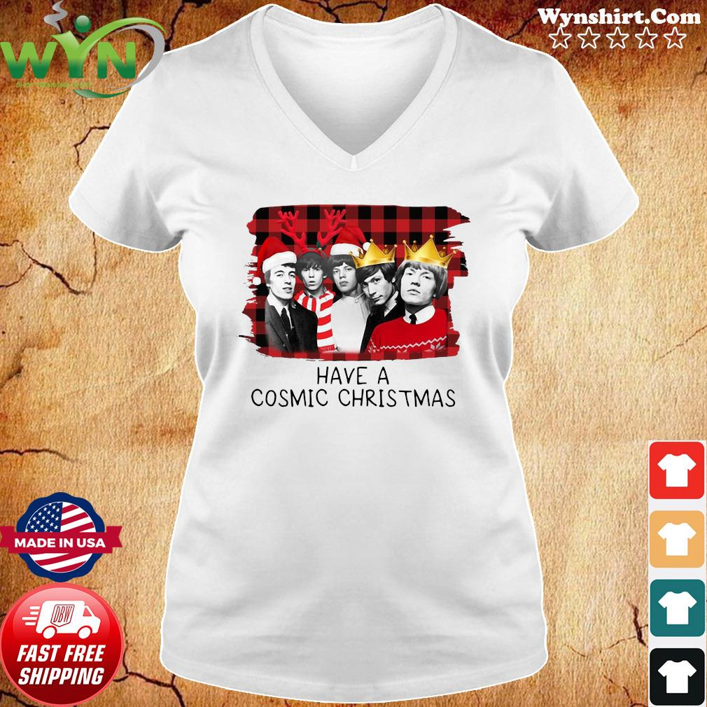 The Rolling Stones Have A Cosmic Christmas Sweats Ladies tee