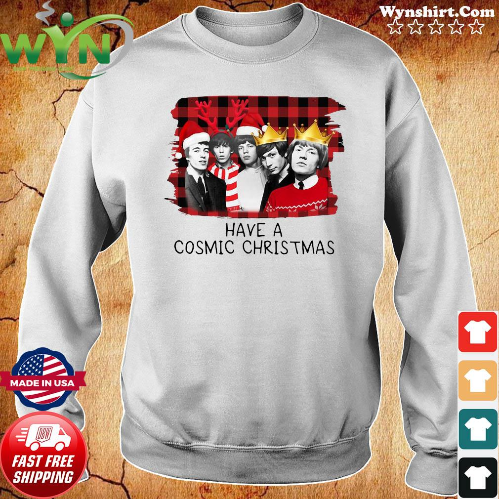 The Rolling Stones Have A Cosmic Christmas Sweats Sweater