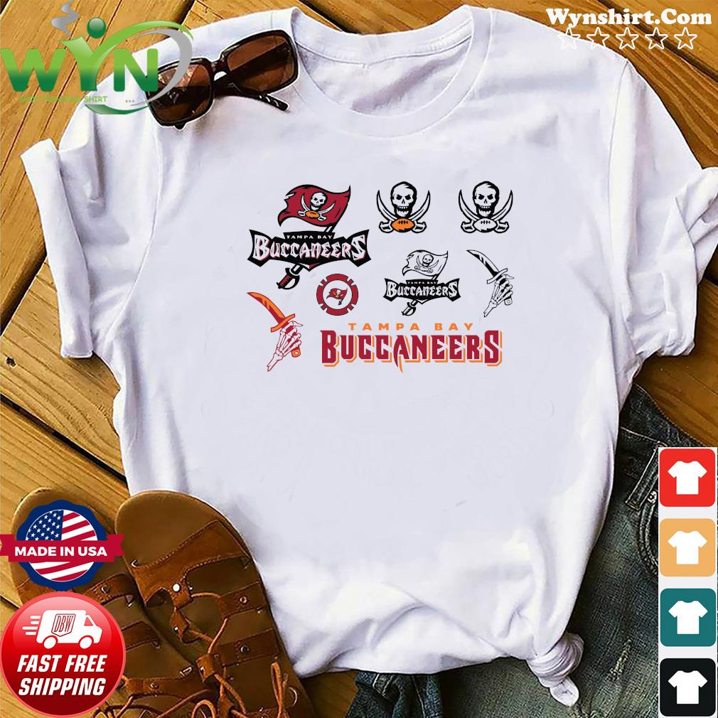 Official Great Tampa Bay Buccaneers Logo 2021 Shirt Hoodie Sweater Long Sleeve And Tank Top
