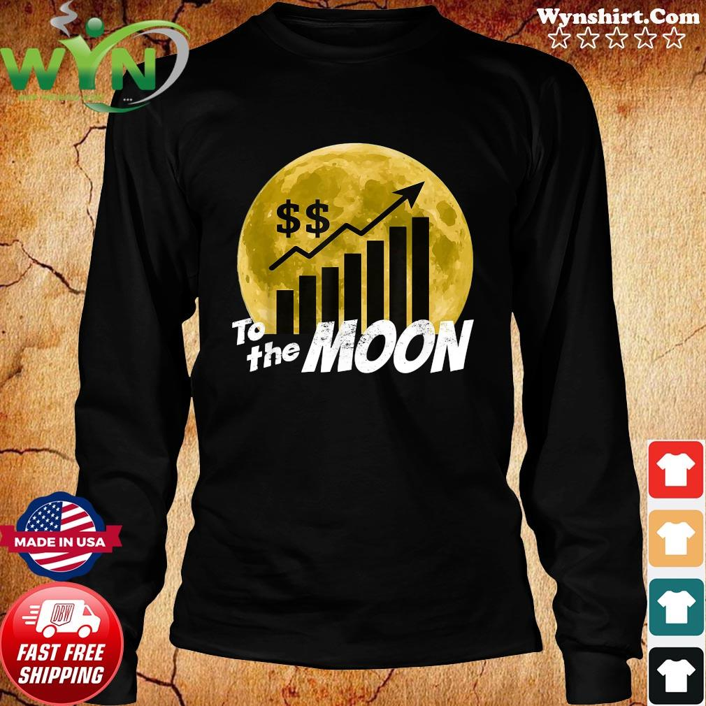 $GME Game To The Moon 2021 Shirt Long Sweater